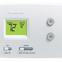 Digital Non-Programmable Heat Pump Thermostat - 3 inch color