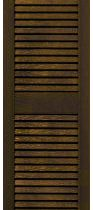 louvered shutters brown 90ls16-1203 13 23