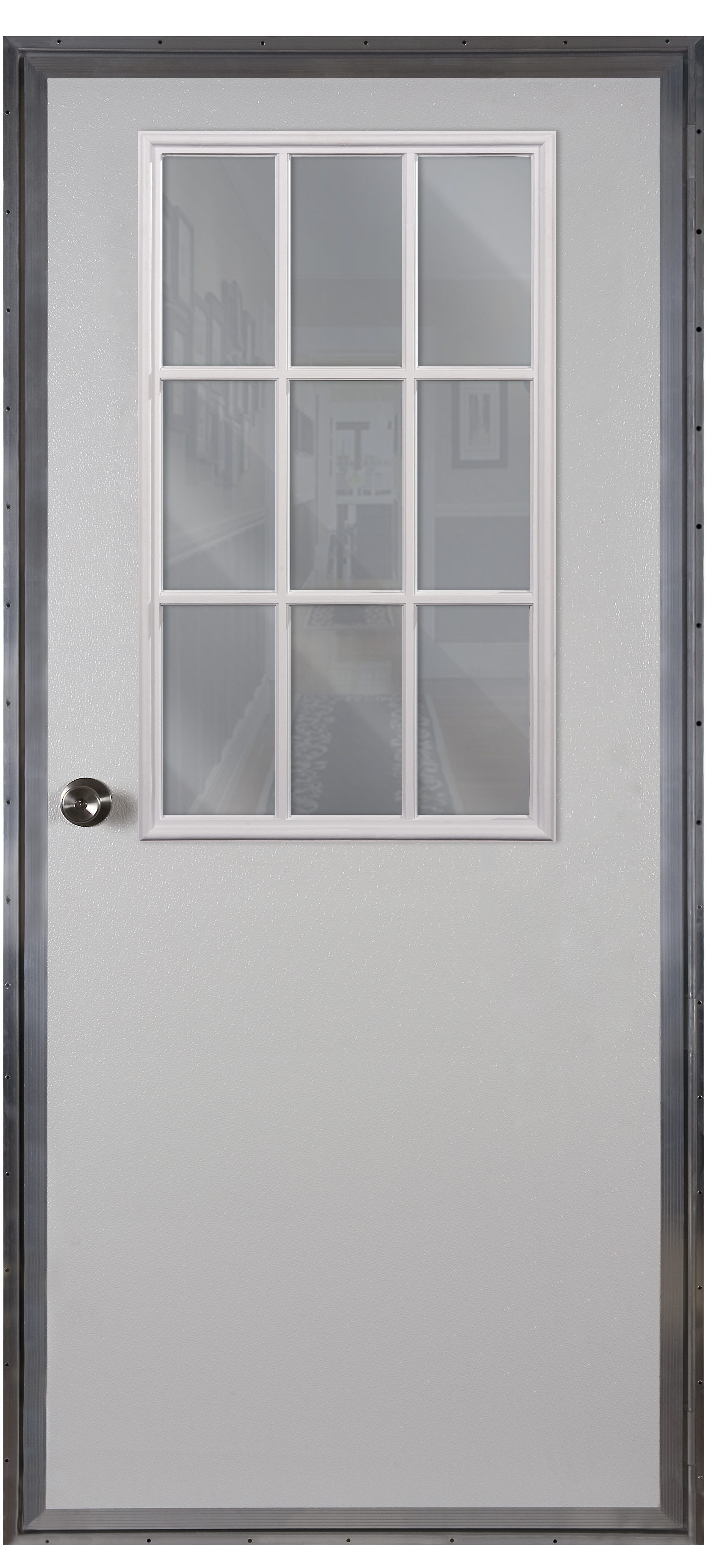 9 lite outswing entry door bargain outlet product doors for 9 light exterior door