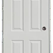 Rear outswing doors