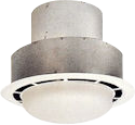 bathroom ceiling exhaust fan 75 cfm with light 808387