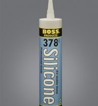 boss 378 silicone clear&white 606000 1