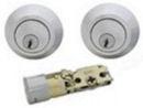 deadbolt lock double stainless 404052