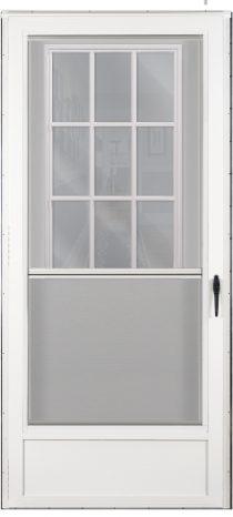Front combination doors