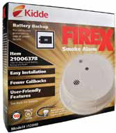 smoke alarm with battery back up 808202
