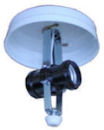 two bulb ceiling mount light fixture 808252