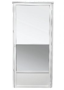 storm door white self store