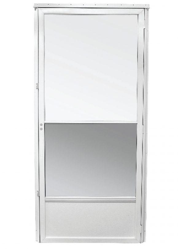 storm door white self store