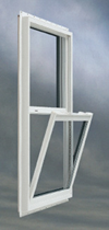 Vinyl insulated windows
