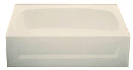 54X27 fiberglass tub bone