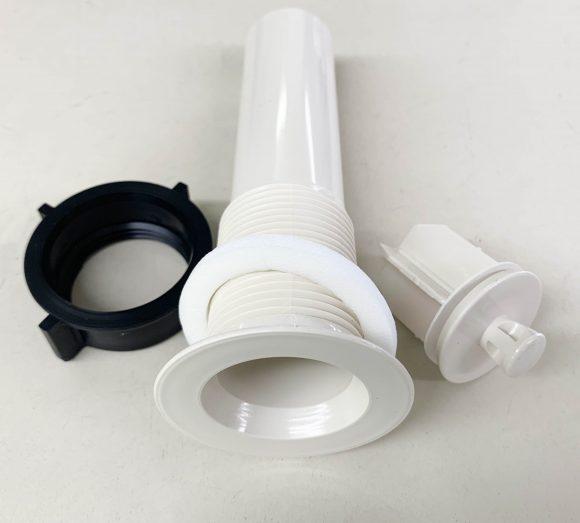 Bone plastic 1 1/4 lavatory drain 303532B