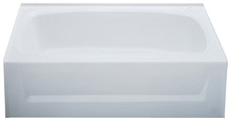 54 x 27 Fiberglass Bathtub